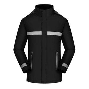 2020 Winter Jackets Workwear Impressão Personalizado Mapa Anti-resfriado EXTERNO EXTERNO À prova de vento anti-frio Camisola de roupas