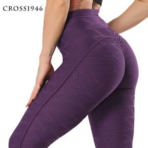 CROSS1946 Seamless Yoga Pants Booty Scrunch Leggings Women Fitness Sport leggings Female Running Trousers High Waist Yoga Tight10