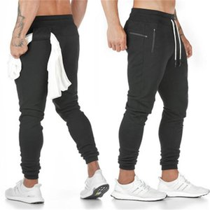 New Arrival Mens Pants Gym Training Sports Bodybuilding Hook Design Male Workout Clothes Jogger Elastic Cell Pocket