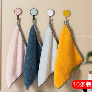 Cleaning cloth can't wipe off household dishwashing lazy dishcloth oil towel hair to wash dishes kitchen supplies handkerchief absorb water