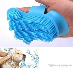 10 unids Pincel de perro Peine para guantes de perro de perro Pincel de limpieza de cabello de finger de animales Nuevo silicón suave mascota para mascotas