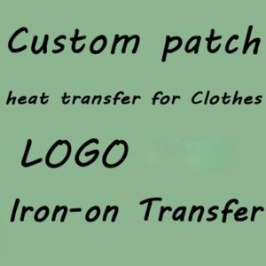Custom Clothing Velcro Embroidery Patches Heat Transfer Sewing Patch Chenille Any Size Logo Quality Iron On Badge Send Your Name Design Applique