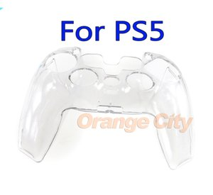 Transparent Clear Hard Case for Sony PlayStation 5 PS5 An-Slip Protective Cover Shell Skin Controller Crystal Full Protector