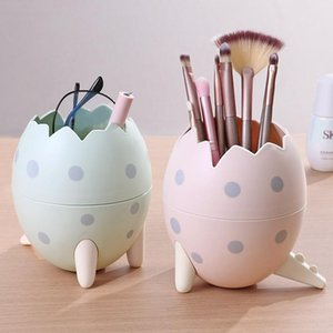 Makeup Organizers Storage-Box Pen-Holder Tube Dragon Egg Shape Pen Container Desktop Brush Storage Pencil-Pot Home Office Stand