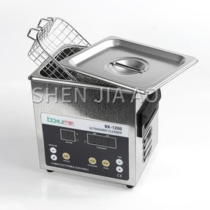 BK-1200 1.6L capacity ultrasonic cleaner Household washing glasses jewelry earring watch cleaning machine stainless steel