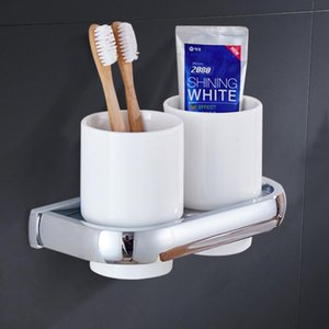 Toilet Brushes & Holders Cup Frame Plating Chromium Koubei Toothbrush Suits Double Su Crossover Vehicle