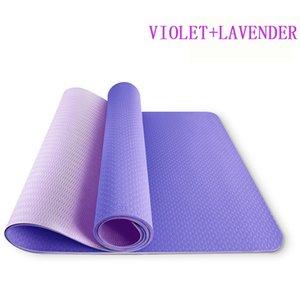 2021 Новая Мода Популярные Фитнес Домашний Спорт Прочные Пилатес Коврик Yoga Красочный Коврик С Сумкой Портативный