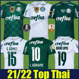2021 2022 Palmeiras Soccer Jersey Eve Away Felipe Melo L.Adriano Futbol forması G.veron G.gomez Breno Lopes Camisa de Palmeiras 21/22 Hayranları