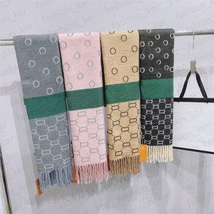 Winter Scarf Scarves Unisex Elegant Warm Letters Design for Man Women Shawl Long Neck 4 Color Top Quality