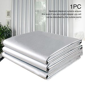 Curtain & Drapes For Bedroom Thickened Blackout Curtains Living Room Solid Thermal Insulated Home Office El Rectangle With Hook Sun Protecti