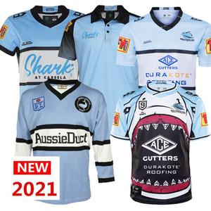 2020 New Cronulla-Suherland Sharks Jersey de rugby 20 21 Jersey Indigenous Jersey League Jerseys Australie Shark Maillot de tapis