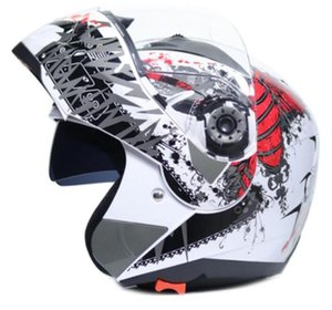 Motorcycle helmets for men and women in autumn and winter seasons universal full-covered full face helmet motorcycle riding safety helmet an