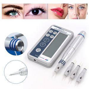 Korean Permanent Makeup Digital Pen Embroidery Eyebrow Tattoo Machine Pen for MTS Eyebrow Lip Eyeliner Sermi Permanent