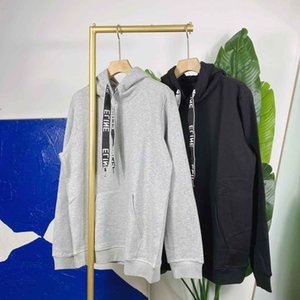 2021SS Весна и лето Новый высококачественный хлопчатобумажный печать с коротким рукавом круглые шеи панель футболки Размер: M-L-XL-XXL-XXXL Цвет: черный белый A21S12