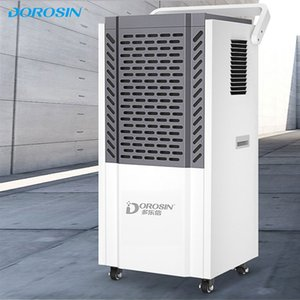 120L Day Industry Commercial Dehumidifier Time Setting Intelligent Humidity Control Air Dryer Easy To Move Electric Drying Machine