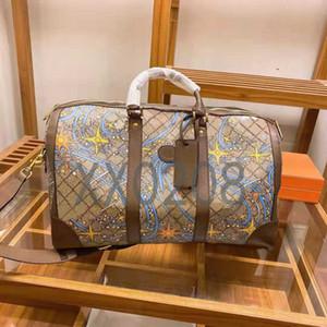 Tasarımcı tasarım yüksek kaliteli çanta, seyahat çantası, fitness çantası, moda ve çok yönlü, seyahat gerekli, boyut 45cm.