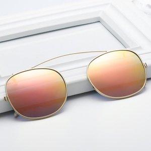 EVOVE Polarize Güneş Gözlüğü Klipler Uygun Gözlük Çerçevesi Erkek Kadın Araba Sürüş Gece Görüş Lens için Anti-Uva UVB Sürücü
