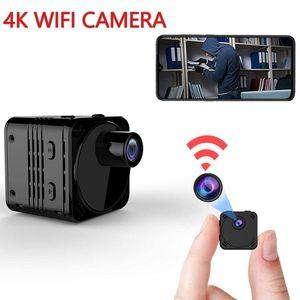 New 4K Mini Camera WiFi Smart Wireless Camcorder IP Hotspot HD Small Cam Motion Detection Vlog Espia Night Vision Video Micro