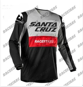 2020 Santa Cruz Motocross Jersey Enduro Yokuş Aşağı Jersey Dağ Bisikleti Yarış Giyim MTB BMX Uzun Kollu Gömlek Maillot Ciclismo