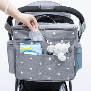 Sacs de couches de bébé orzbow pour sac à dos de maternité sacs de grande capacité Sacs Organisateur Baby poussette sac Maman Sac Nappy mouillé pour maman Care 210305