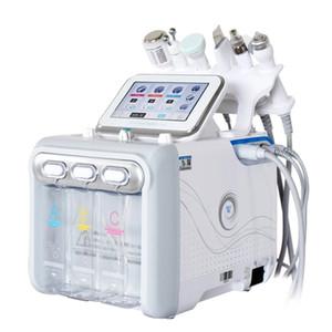 6 in 1 H2O2 Water Oxygen Jet Peel Hydra Beauty Skin Cleansing Hydra Dermabrasion RF Bio-lifting Face Machine Water Aqua Peeling