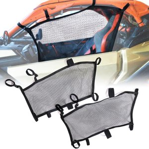 Left And Right Black Windscreen Mesh Fit For Can-Am Maverick X3 Max R 2021-2021 Model