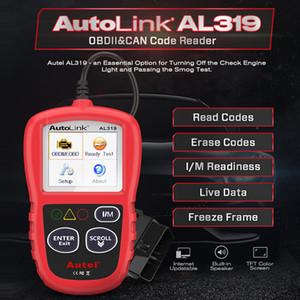 AutoLink AL319 Auto Diagnostic Tool OBD2 Code Reader Autel Al319 OBD 2 Scanner Automotriz Read Erase DTC PK elm327 CR3001