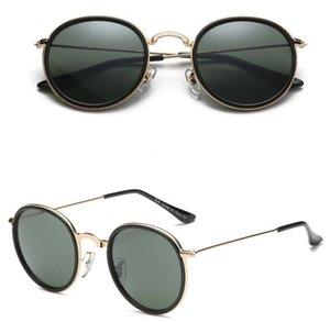 Haute Qualité Marque Hommes Sunglasses Designer Polarisée Eyewear Femmes Mode Sun Verres UV400 Protection carrée Verre avec Boxes 3448