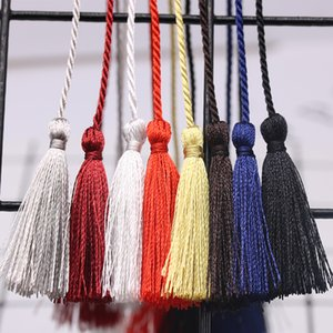 Arts And Arts, Crafts Gifts Home & Garden10Pc Small Two Head Rope Tape Diy Jewelry Curtain Garments Decorative Aessories Handbag Pendant Cra