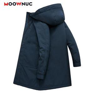 Moda abrigo Parka Masculina Outwear Hombre 2021 Espesano Casual Chaqueta Impermeable Nuevo Otoño Invierno Termal Homme Abrigos 4xl Moownuc