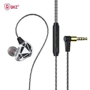 Headphones & Earphones 2021 3.5mm In Ear Wired Earphone Headphone HIFI Bass Game Sport Built-in Microphone Hands-Free Earplug Headset Cable