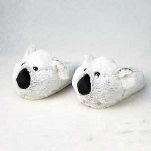 Shippings ShippingsChifren Pantofole da interno speciali Koala Personalizzato Caldo Inverno Amanti Innamorati domestici Pantofole di casa Spessa morbida scarpe da fondo in legno Piano 210302