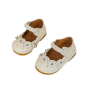 Toddler Shoes Baby Girl Shoes Flower Princess Dress Shoes Spring Autumn Leather Infant Shoe Moccasins Soft Girls Footwear B3991