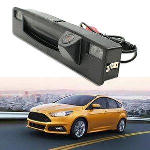 for Focus 2021-2021 Rear View Camera for Car Parking with Handle Car Trunk HD CCD