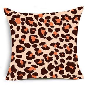 Einseitige Drucktier Leopard Dekorative Kissen Fall Super Weiche Samt Schwarzweiß-Zebra Muster Kissenbezug Sofa DHF4875