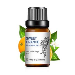 Hiqili Vanilla Orange Aceites Esenciales 10ML Difusor Aroma Oil Bergamota Vetiver Ta Tea Rosemary Manzanilla Eucalyptus Lemongrass