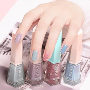 Nail Polish Free From Baking Candy Color Quick-drying Translucent Jelly Environmental Protection Lasting Peelable