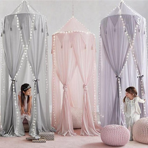 Baby Bedroom Mosquito Net Canopy Bedcover Girls Room Fairy Curtain Bedding Dome Tent Room Decor Canopy Netting Bed Tent SEA GWC6275