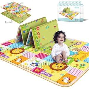 Foldable Baby Play Mat Kids Carpet for Children Children's Room Activity Surface Educational Toys 210915