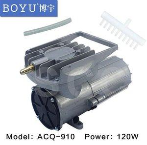 DC 12V 160L / мин 120 Вт постоянный магнит постоянного тока диафрагма воздушный компрессор кислородный насос для рыбного бака пруд аквариум аэратор давление воздушный насос