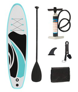 Double Layer Drop Stitch PVC Inflatable Stand Up Paddle Board Surfboard
