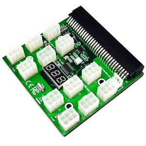6pin Ethereum Breakout Board Server ZEC ZCASH ETH Power Supply LED Display For PSU GPU Mining Parts Replacement