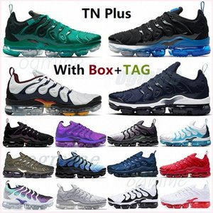 tn plus running shoes men women tns sneakers USA triple white red black bleached aqua coral pure pink sea be true active fuchsia mens womens trainers #2021#