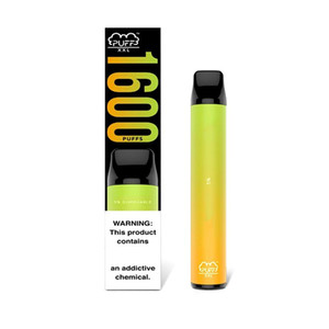 PUFF XXL Disposable Vape Device 1100mah 1600+ Puffs 10 Colors Puff Bar Plus Xtra E Cigarette Vape Pen