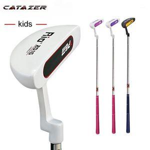 Гольф-клуб Детская плитка для детей для детей в течение 3-12 лет детей розовый, синий цвет мальчиков девочек полный набор клубов1