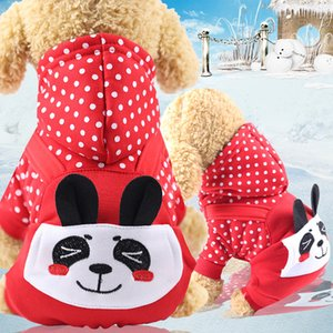 Autumn winter costume bear designer apparel accessories four legged pet cat dog hoodies outfits clothes