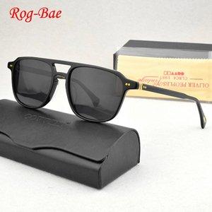 Güneş Gözlüğü OV5582 Vintage Polarize Kadınlar 2021 Tasarımcı Güneş Gözlükleri Erkekler Için Asetat Sürüş UV400 Bayan