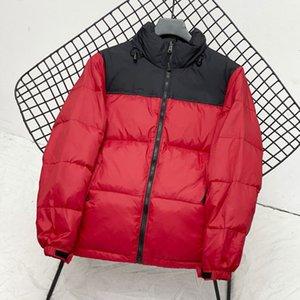 Hommes Parkas Vestes Down Coat Mode Breaker Bouchoir Chaud Vouettes Femmes Zipper Fenêche Épaissement Vestes Taille M-2XL