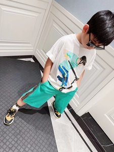 Newest Kids Boys Set 2021 Summer Clothes Baby Boys Short Sleeve T-shirt+Pants 2pcs Outfits Children Clothes tops