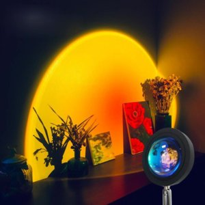 et Projector Night Lights Live Broadcast Background Like Galaxy Projection Atmosphere Rainbow Lamp Decoration For Bedroom Light